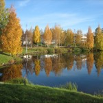 My first Rovaniemi autumn
