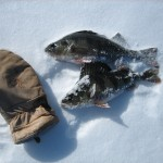 How to keep warm when ice-fishing