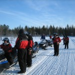 Snowmobile safaris for beginners
