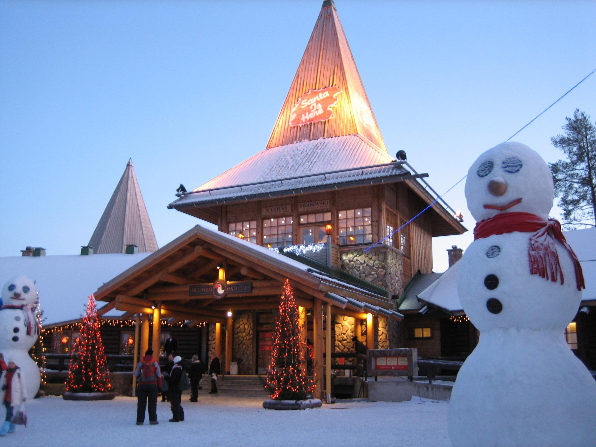 Santa Claus Village | Grandma in Lapland