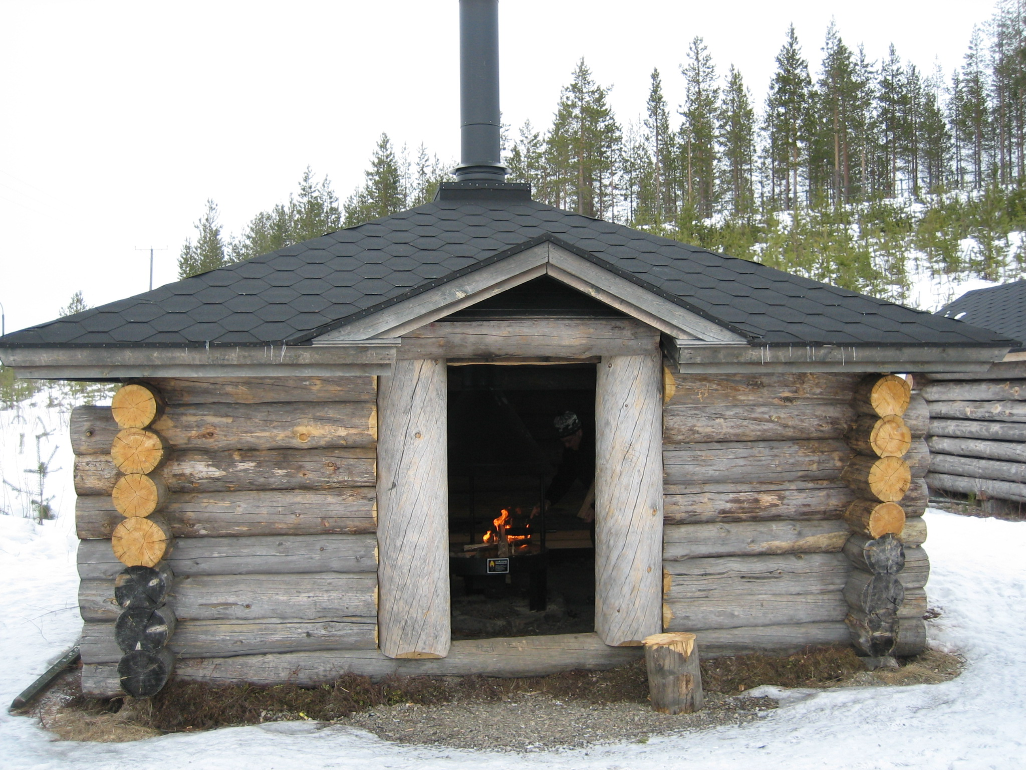Kinds Of Shelters : Hiking in lapland and shelters for staying overnight