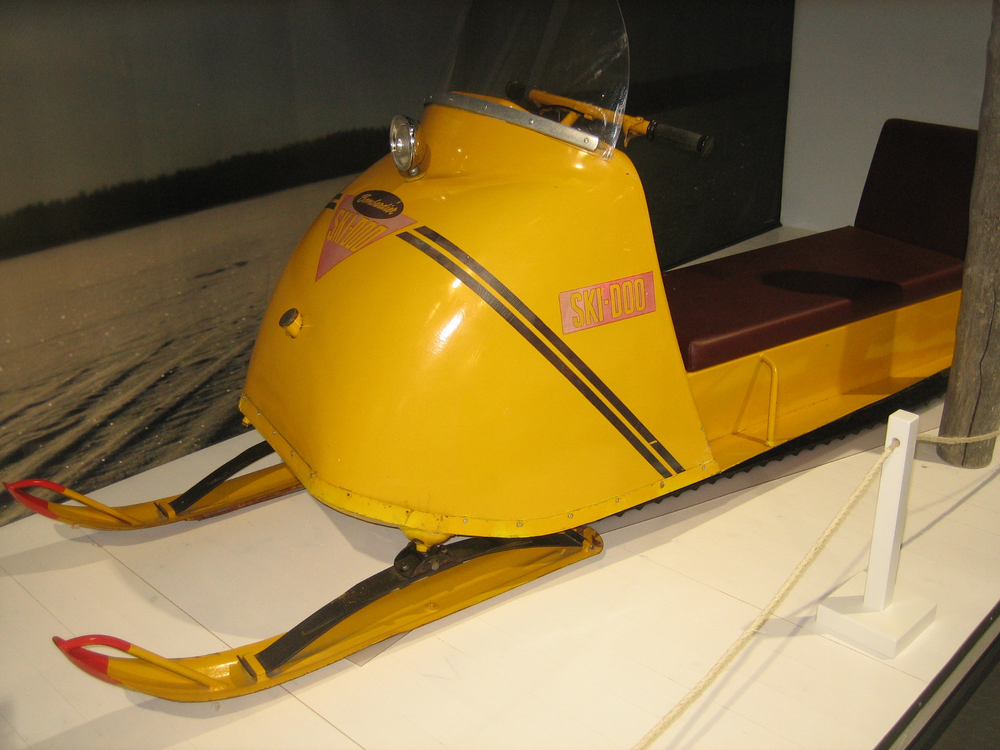 Snowmobiles And Their History Grandma In Lapland