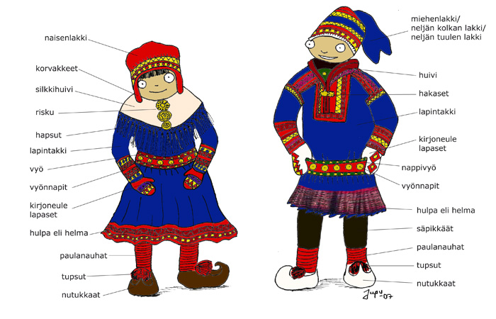 The fascinating Sámi dresses  fe023e78c7e