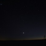 Venus- the bright evening-star