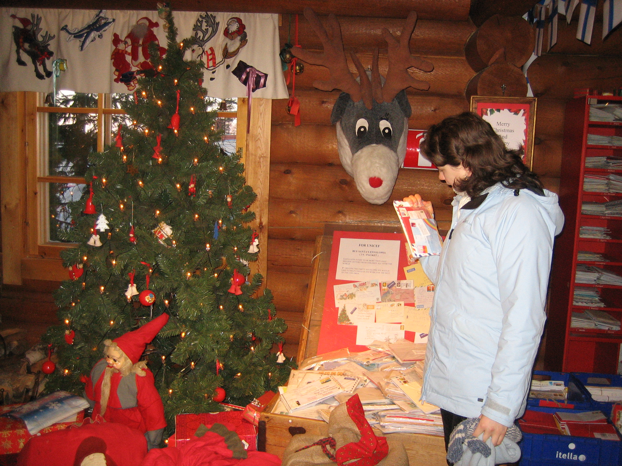 A Letter To Santa Claus  Grandma In Lapland