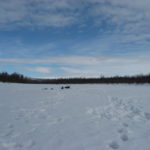 Ice-fishing expedition to the Upper North of Lapland, in 2018