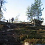 Hiking in Korouoma canyon in Lapland, part 2